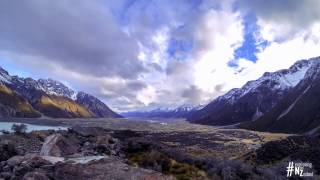Victoria Valley New Zealand  City pictures : Tasman Valley, New Zealand, Timelapse