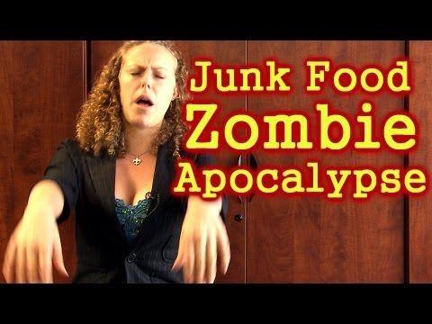 junk food - Friend us: https://www.facebook.com/psychetruthvideos Junk Food Zombie Apocalypse, Food Industry Exploiting Your Taste, Nutrition & Weight Loss This video di...