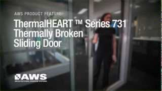 Series 731 ThermalHEART Sliding Door Overview