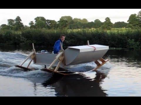 лодка  со моторчиком своими руками