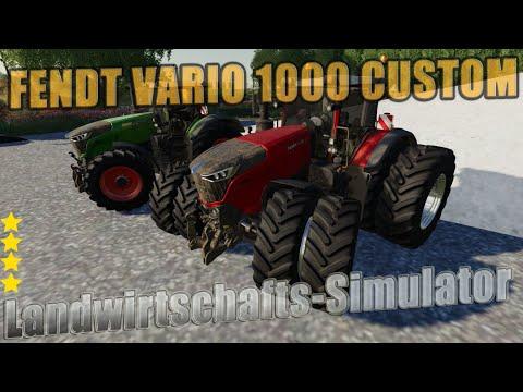 FENDT Vario 1000 Custom v1.0.0.0