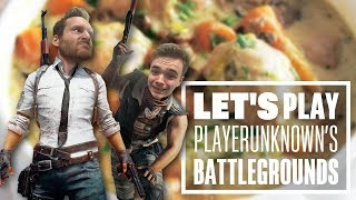 Let's Play PUBG gameplay with Chris and Ian: Chicken Casserole?