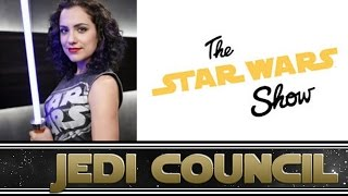 The Star Wars Show Co-Host Andi Gutierrez Interview - Collider Jedi Council by Collider