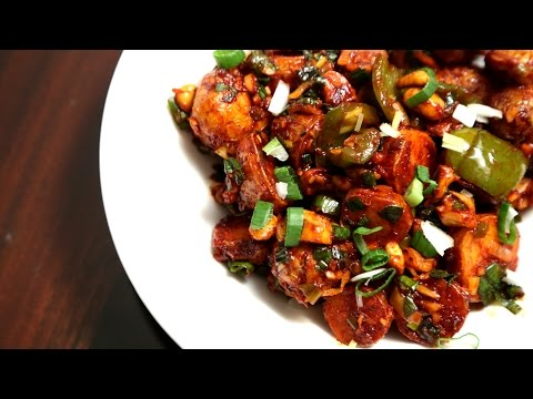 Schezwan Potatoes | Indo Chinese Starter Recipe | Ruchi's Kitchen