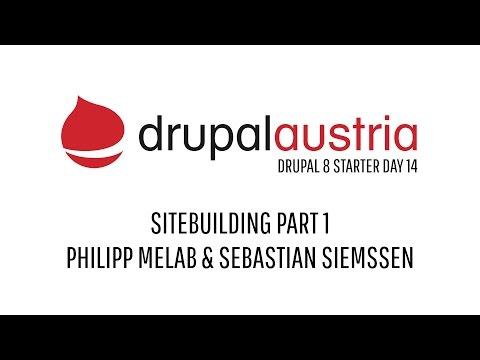 Drupal 8 - SITEBUILDING PART1 - MELAB & SIEMSSEN
