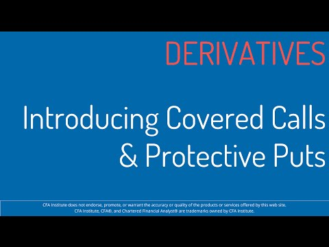 2016 CFA Level 1 MindMap - SS17 - Derivatives - Covered Calls & Protective Puts
