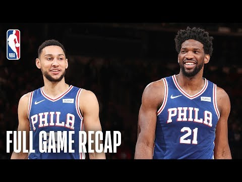 Video: 76ERS vs KNICKS | Embiid & Tobias Lead PHI | February 13, 2019