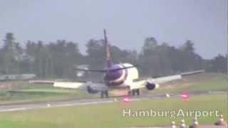Planes Landing At Koh Samui Thailand