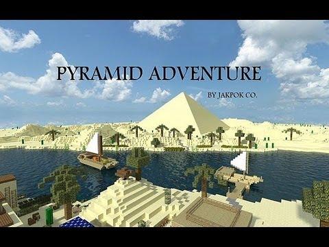 [MAP] Pyramid Adventure - египетский отпуск Стива
