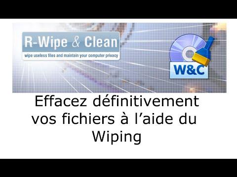 Effacez vos fichiers de façon sécurisée. (Wiping, Shredding)