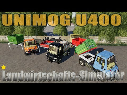 Unimog U400 v1.0.0.1
