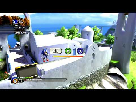 (wr) Sonic Unleashed Windmill Isle Act2 Speedrun 0:23:34