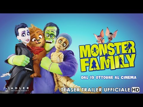 Preview Trailer Monster Family, teaser trailer italiano
