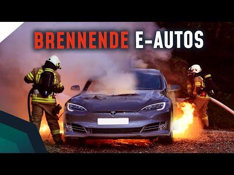 Was passiert, wenn E-Autos brennen? Können Wasserstoffautos explodieren? Mythen Check