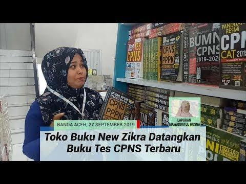 Toko Buku New Zikra Banda Aceh Datangkan Buku Tes Cpns Terbaru