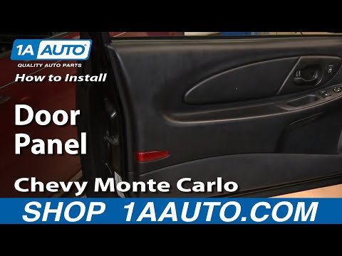 How To Install Remove Door Panel Chevy Monte Carlo 00-07 1AAuto.com