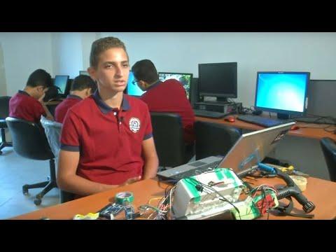 Ägyptische Schüler entwickeln Blindenstock mit GPS-Sy ...