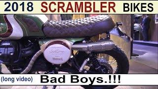 10. Scrambler Motorcycles 2018