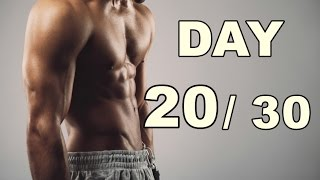 Day 20/30 Abs Workout (30 Days Abs Workout) Home Workout
