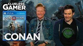 "Video Clueless Gamer: ""God Of War"" With Bill Hader  - CONAN on TBS MP3, 3GP, MP4, WEBM, AVI, FLV Februari 2019"