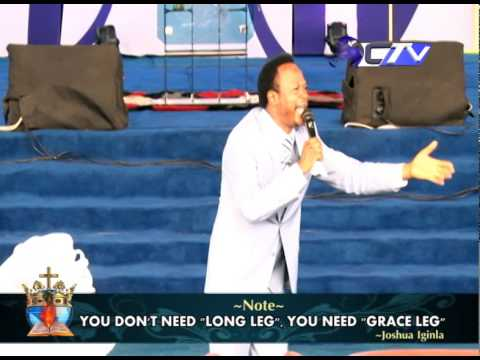UNSTOPPABLE GRACE pt2 MESSAGE BY BRO  JOSHUA IGINLA