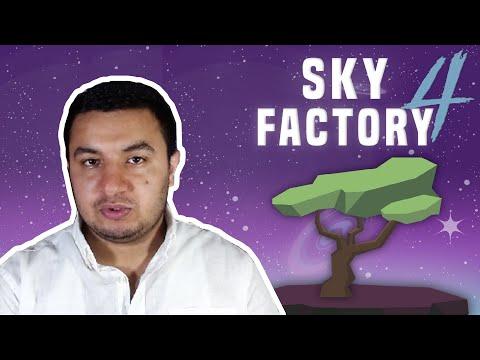 EFSANE PAKET ( YENİ SERİ ) | Minecraft Sky Factory 4 #1