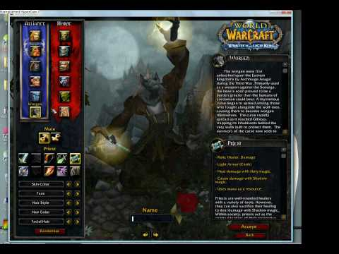 WoW Private Server 4.0.0 Alpha Cataclysm