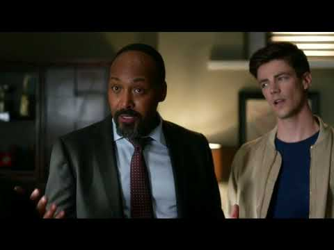 The Flash 4x04 Barry and Joe confront the mayor/ Barry and Dibny