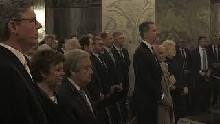 Ceremonial de S.M. el Rey en el Dom de Aquisgran