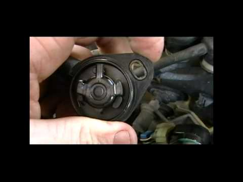 How to replace TPS 1988 Honda CRX Si 88 Throttle Position Sensor
