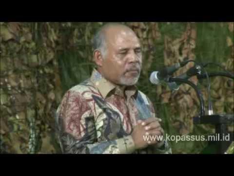 Sambutan Panglima F-FTDL (Silaturahmi Tokoh Timor Leste bersama Danjen Kopassus) 29.04.2015