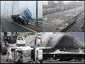 Japan Cyclone 2018   Typhoon Jebi   Rare video footage