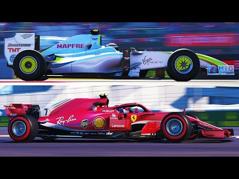 F1 2018 MORE SCREENSHOTS  New Weather Conditions?! Brawn, 70s, 80s and more!