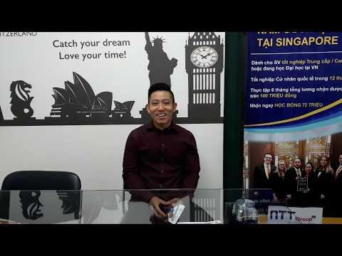 Lê Thanh Tâm - Thực tập tại Singapore & Mỹ