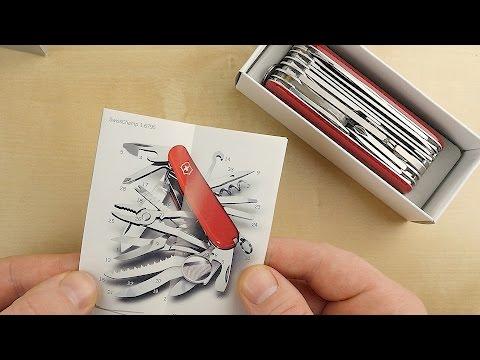 Victorinox Swisschamp // Unboxing // Review // 1.6795 // DEUTSCH