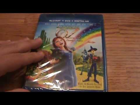 Legends Of Oz: Dorothy's Return Blu-Ray Unboxing