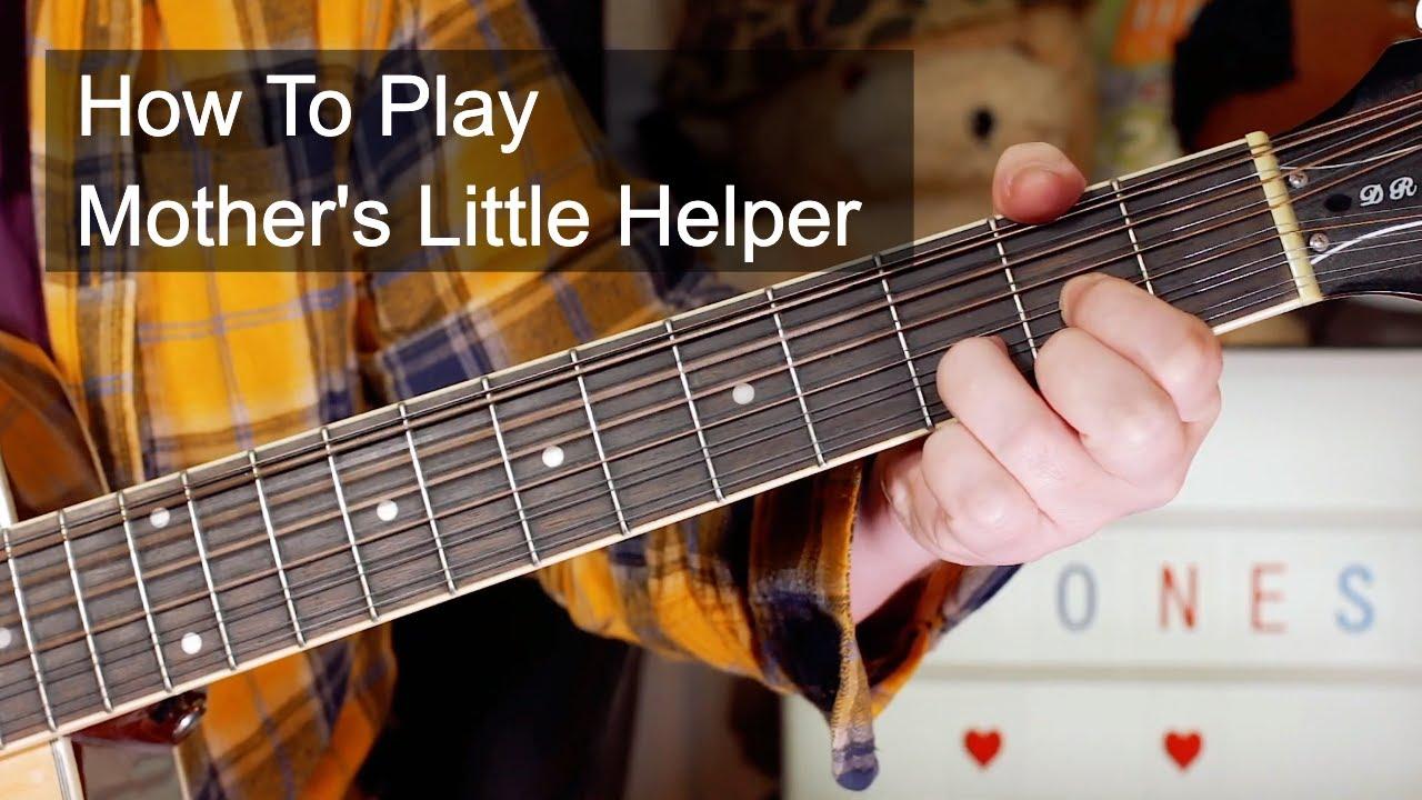'Mother's Little Helper' The Rolling Stones Acoustic Guitar Lesson