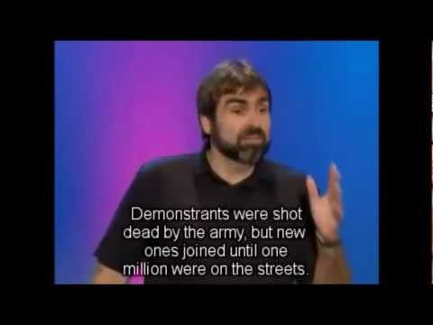 german comedian 2004 about the usa and 911
