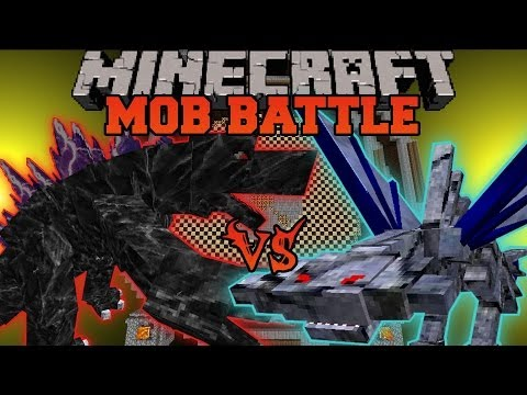 MOBZILLA VS. 200 CEPHADROMES - Minecraft Mob Battles - OreSpawn Mod Battle