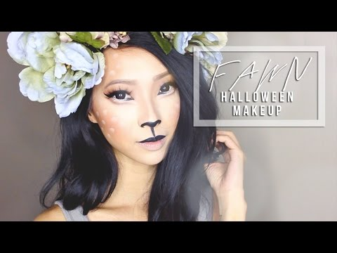 Forest Fawn Costume Makeup & DIY Antlers