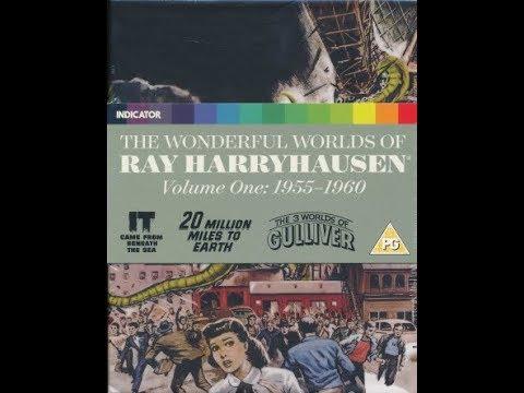 The Wonderful Worlds of Ray Harryhausen Volume One 1955-1960 Indicator Powerhouse Box Set Unboxing