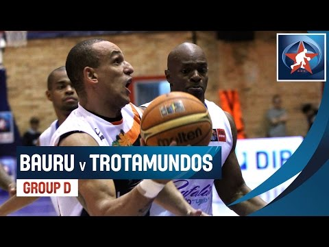 Bauru (BRA) Vs. Trotamundos (VEN) - Game Highlight - Group D - 2015 Liga De Las Americas