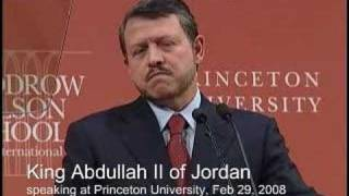 King Abdullah II Of Jordan - A Policy Address