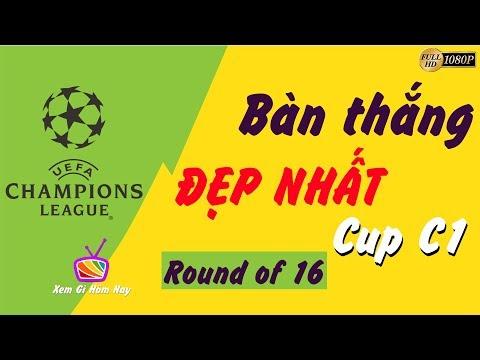 Tổng hợp các bàn thắng tại Champions League 2019 vòng 16 đội @ vcloz.com