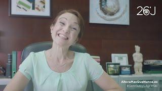 Eva Velasco participa en uno de los rodajes de publicidad más vistos del año