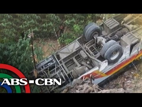 At - Victory Liner bus reportedly lost its brake and turned upside down in Olongapo City. Subscribe to the ABS-CBN News channel! - http://goo.gl/7lR5ep Visit our ...