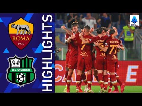 Roma 2-1 Sassuolo | Breathtaking match at the Olimpico! | Serie A 2021/22