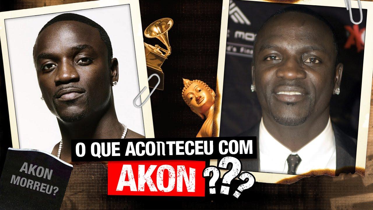 O que aconteceu com Akon?