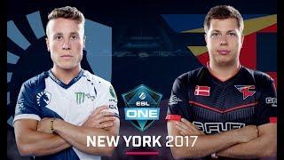 CS:GO - Team Liquid vs. FaZe [Inferno] Map 1 - Grand Final - ESL One New York 2017