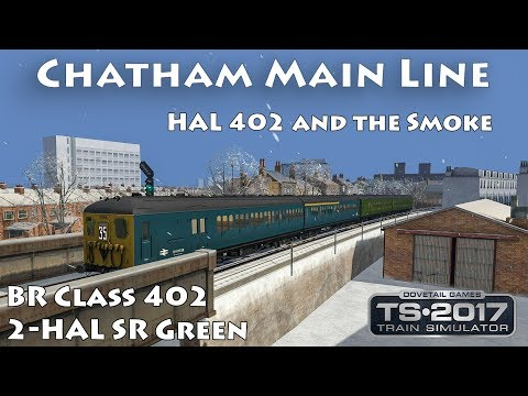 Chatham Main Line | BR Class 402 2-HAL SR Green ► Train Simulator 1440p